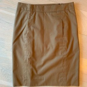 Camel colored Yves Saint Laurent Skirt